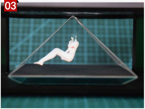 diy 3d holographic projection pyramid 2015 new diy 3d holographic projection pyramid for apple