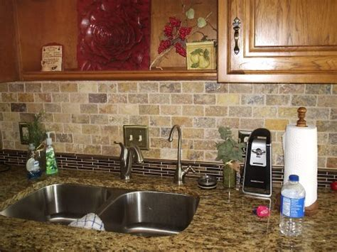 Easy To Clean Kitchen Backsplash True Tile Troy And Dayton Ohio Area Tile Installation