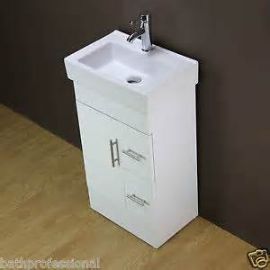 White Vanity Unit 500mm Vanity Unit 500mm Bathroom Cabinet Mdf Ceramic Basin Free