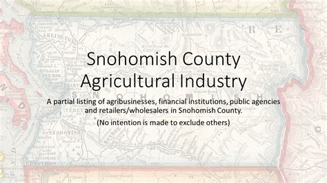 Records Snohomish County About Farming Snohomish County Wa Official Website