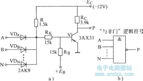 nand gate using diode diode transistor nand gate basic circuit circuit diagram seekic