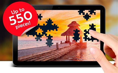 amazon com 1 000 piece puzzle high definition sunset on magic jigsaw puzzles android apps on google play