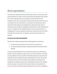 Auto Shop Safety Essay by Store Operations