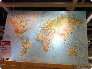 World Map Ikea by First Home Makeover Keepin Busy