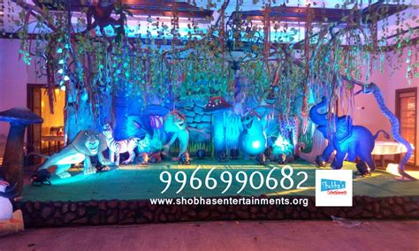 birthday themes hyderabad jungle theme for kids first birthday party shobha s