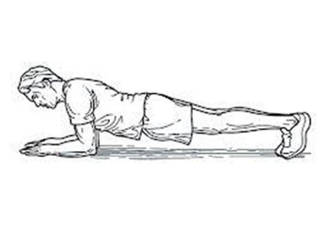 plank exercise diagram plank exercise diagram www pixshark images