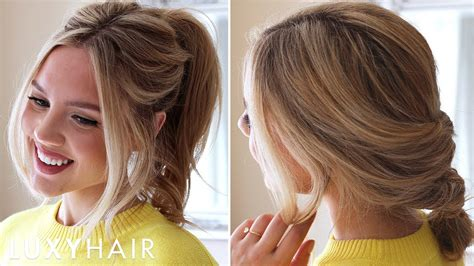 Hair Style Hair by 3 Easy Running Late Hairstyles