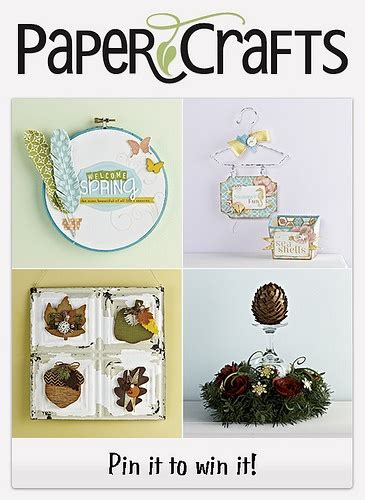 Papercrafts Magazine - 17 best images about contests on card