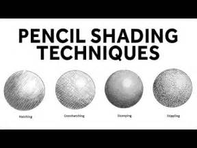 how to a lshade how to shade with pencil pencil shading techniques