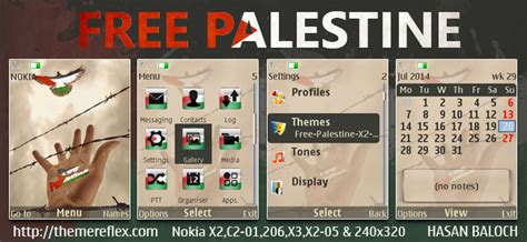 nokia c3 themes with media player skin free palestine themes for nokia 320 215 240 nokia 240 215 320
