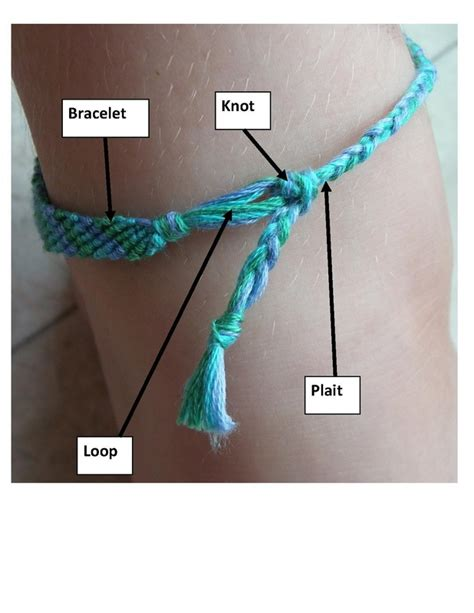 String How To - friendship bracelets craft n home
