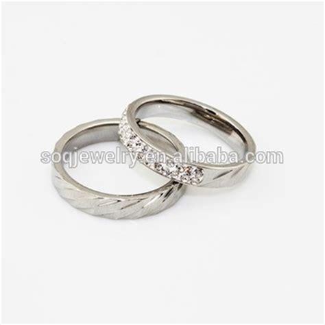 custom high quality wedding ring set for cheap bulk