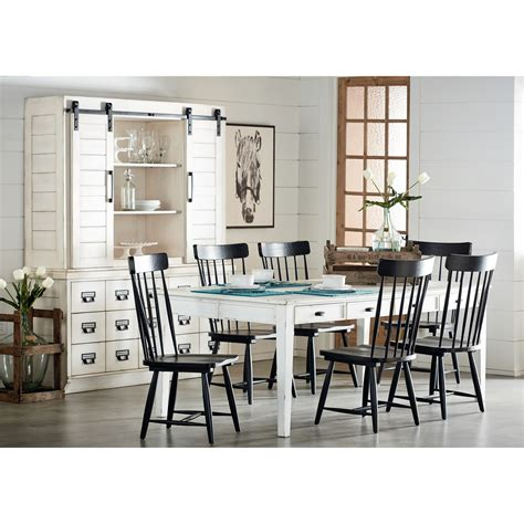 Magnolia Home by Joanna Gaines Farmhouse Kitchen Dining Group   Ivan Smith Furniture   Casual