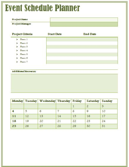 event organizer template 10 event program template free word excel pdf