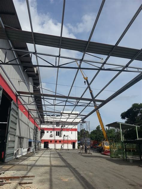 Awning Factory by Beranang Semenyih Factory Metal Awning And Tar Premix