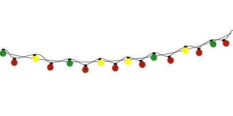 lights clipart christmas light strand pencil and in