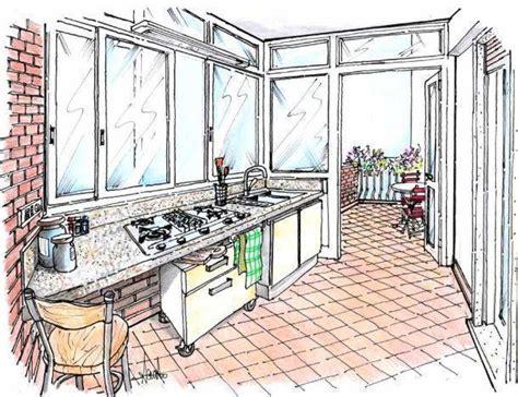 cucina in veranda chiusa angolo cottura in veranda come progettarlo
