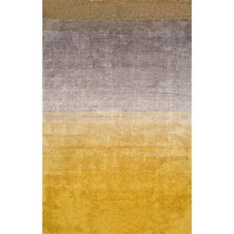 ombre area rugs nuloom ombre shag yellow 8 ft x 10 ft area rug hjos01a 8010 the home depot