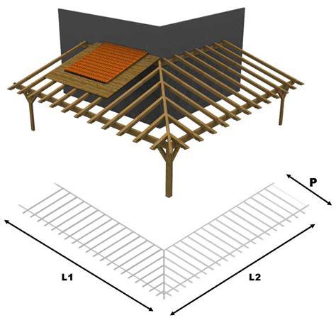 staffe per tettoie in legno tetto tettoia porticato in lamellare a l esterno