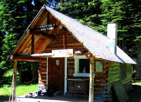 Mystic Lake Cabin ecorover pintler wilderness mystic park and