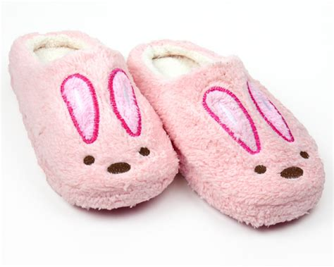 pink house shoes pink bunny slippers adult pink bunny slippers