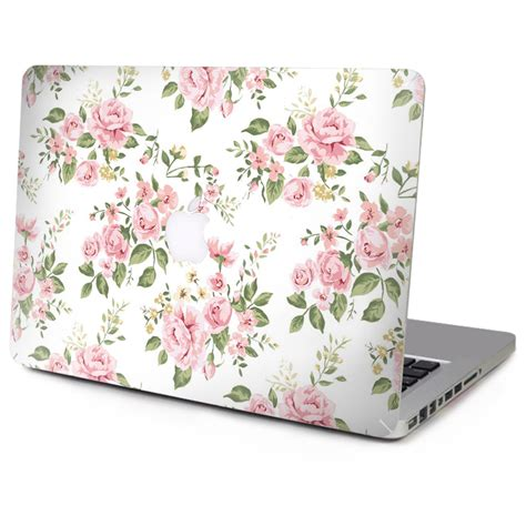 printable stickers for laptop floral pattern marble print top cover vinyl decal laptop