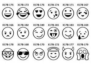 new emoji clip art for custom t shirt artwork transfer