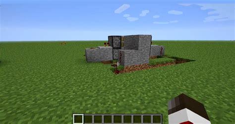 Piston Door Minecraft by Automatic Door Minecraft Piston Images