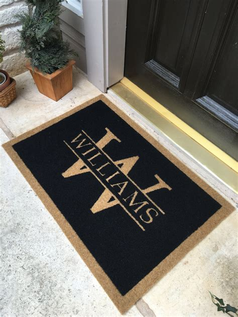 Custom Door Mats by Luxefinds The Luxury Search Engine For