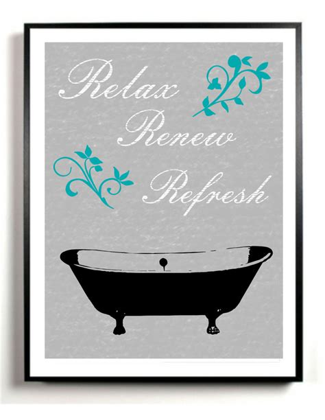 poster bathroom bathroom art print bath tub artwork poster gray and black