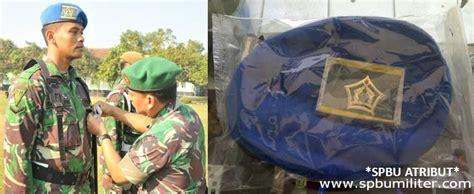 Senter Jatah Tni By Saninmilitery baret polisi militer ad asli jatah spbu militer
