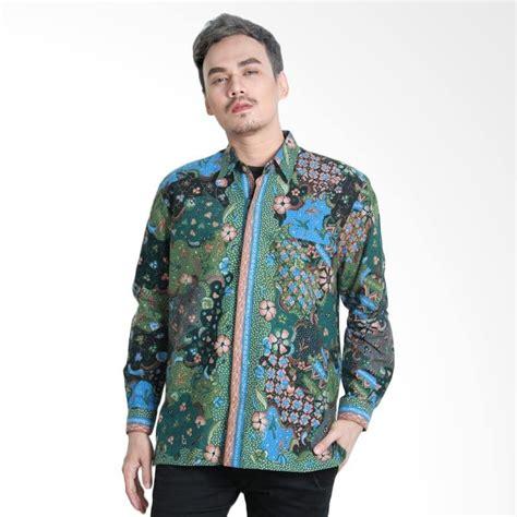 Baju Batik Pria Batik Katun Aamir Kinsler Bk120 jual aamir kinsler btu15 kemeja batik tulis lengan panjang