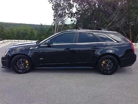 Pre Owned Cadillac Cts V by Buy Used 2011 Black Cadillac Cts V Wagon Certified