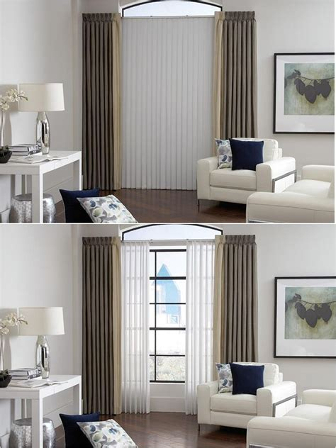 vertical blinds for living room window lafayette sheer visions white sheer vertical blinds living room ideas window treatments