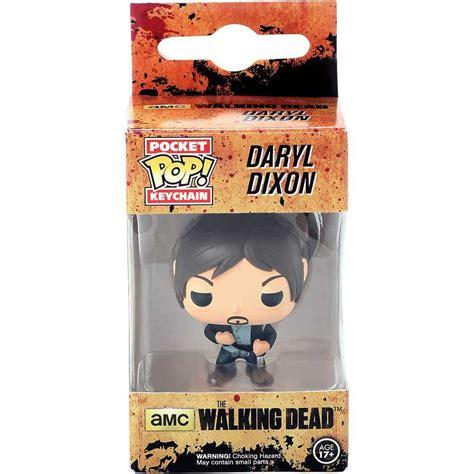 Dijamin Original Funko Pop Keychain Daryl Dixon Amc Walking Dead chaveiro walking dead daryl dixon norman reedus funko pocket pop keychain arte em miniaturas