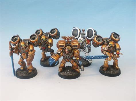 angel bava heresy imperial fists army the waaagh studios commission