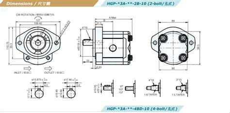 Hydromax Hgp 2a Gear Hidrolik hydromax gear hgp 3a f25r 2b