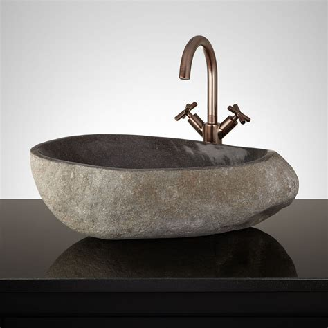 stone bathroom sink stylish and diverse vessel bathroom sinks