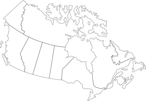 usa and canada map black and white printable blank canada map