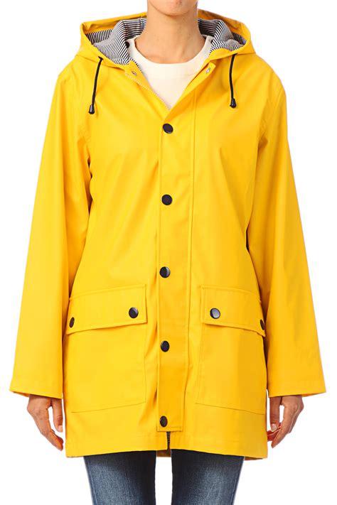 in raincoat petit bateau yellow oilskin raincoat in yellow lyst
