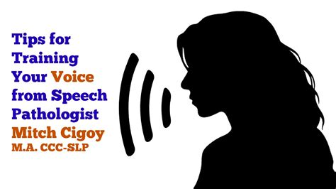 voice training program tips for training your voice from a speech pathologist