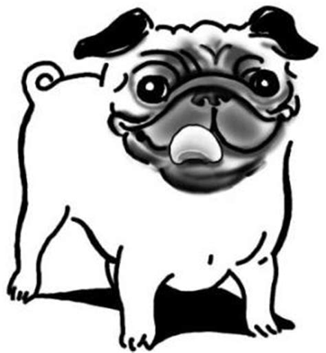 the caign pugs pug coloring pages