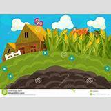 Cartoon Farm Scene | 1300 x 957 jpeg 153kB