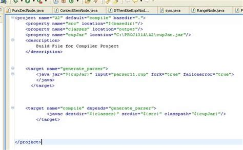 tutorial java cup integrating cup with eclipse
