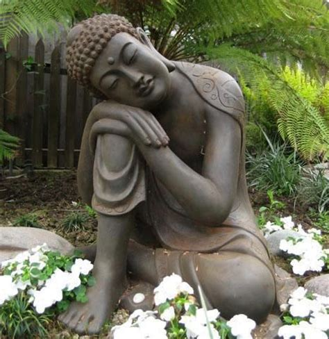 Buddha Garden Decor Meditation Garden Meditation Pinterest