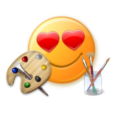 Painting Emoji by 20 Skype And Emoticons For Colors