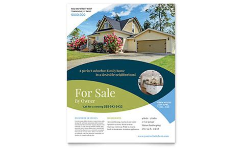 free real estate flyer psd templates download styleflyers