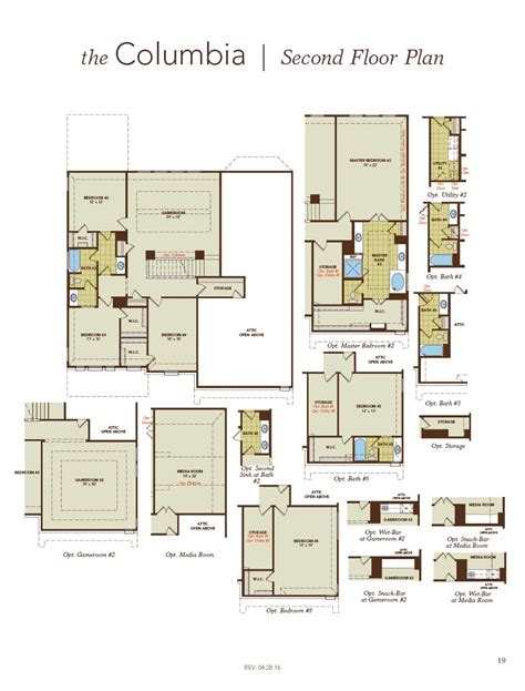 floor plan friday columbia by gehan homes the marr team