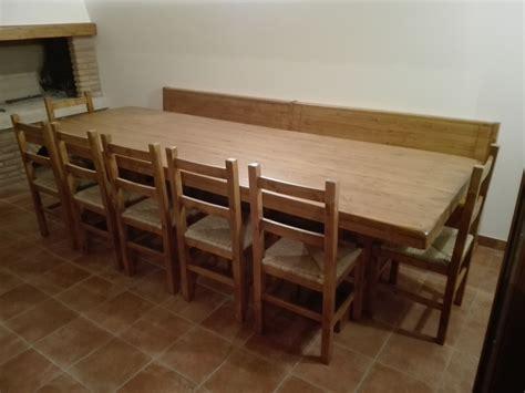tavoli con panca tavoli e panche taverna