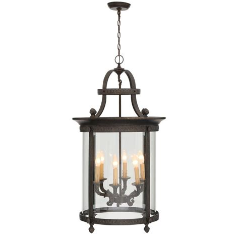 Garden Chandelier Lighting world imports chatham collection 6 light bronze outdoor hanging mount chandelier lantern